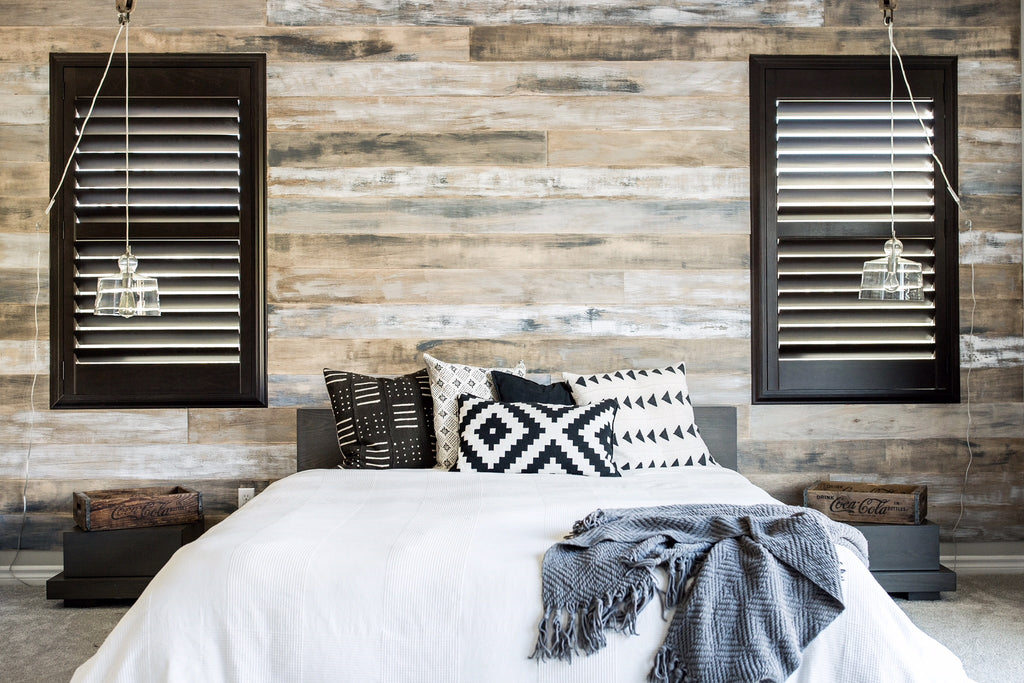 Rustic Wall Treatments by Urban Wall design
