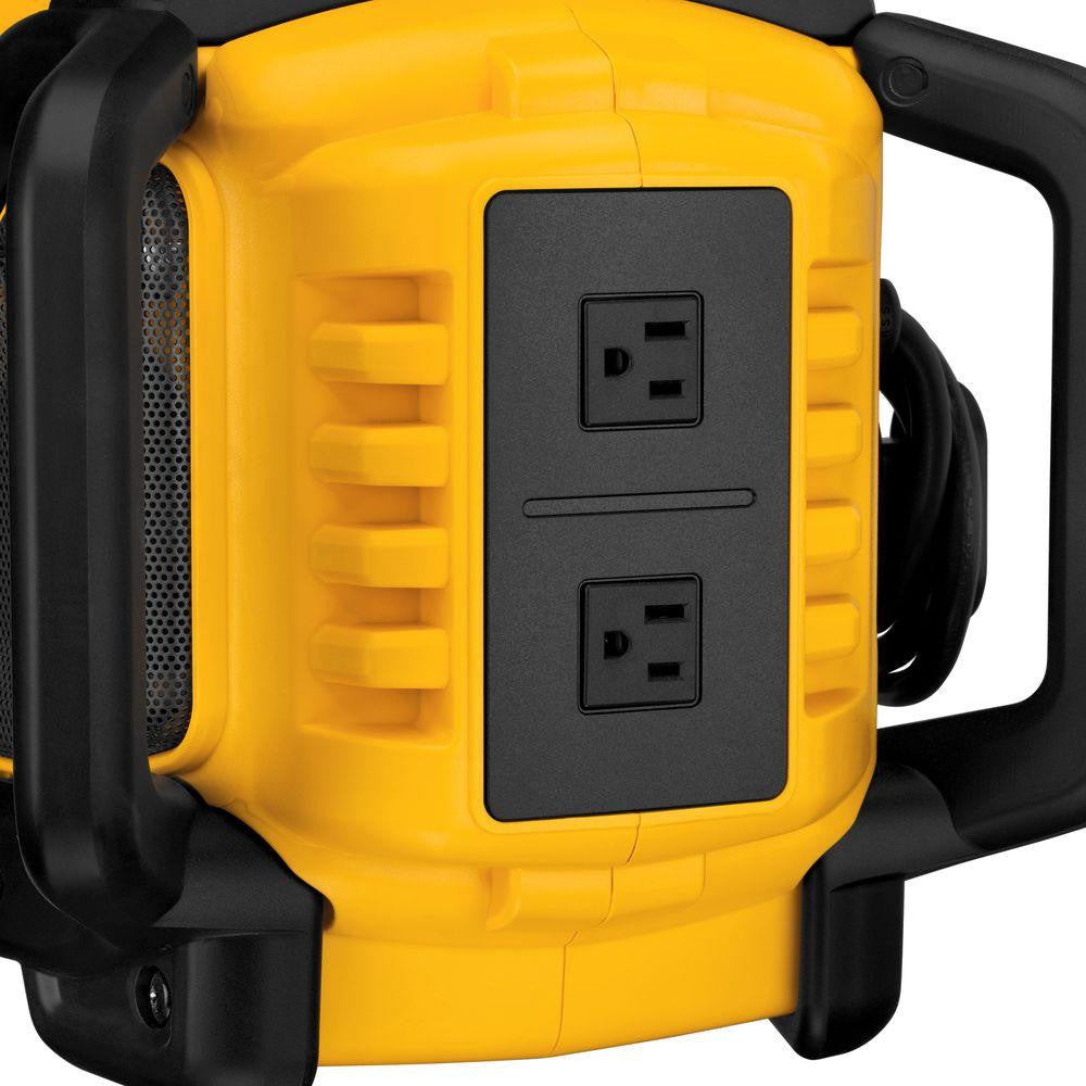 DEWALT Bluetooth Radio Charger Outlet