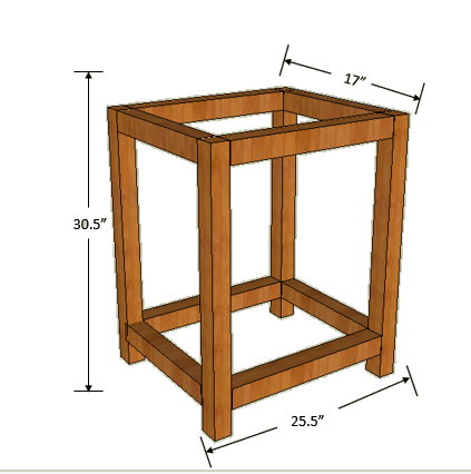 DIY Bar Cart - Free Woodworking Plans - Handmade Haven