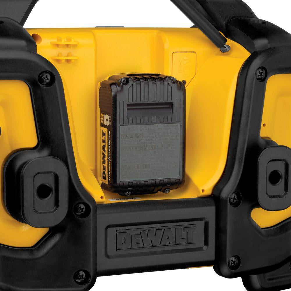 DEWALT Bluetooth Radio Charger Battery Pack