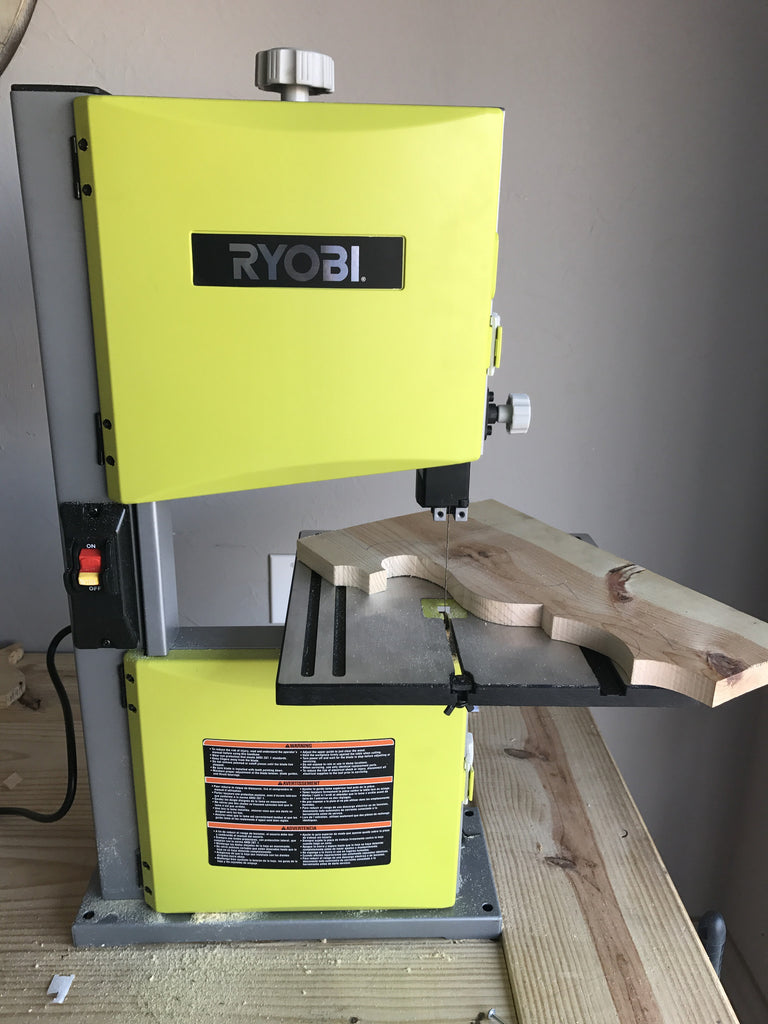 Handmade corbel using ryobi bandsaw handmade haven then i went back and cut the sharp corners it makes life much easier and you dont risk the blade popping off speaking from experience keyboard keysfo Image collections