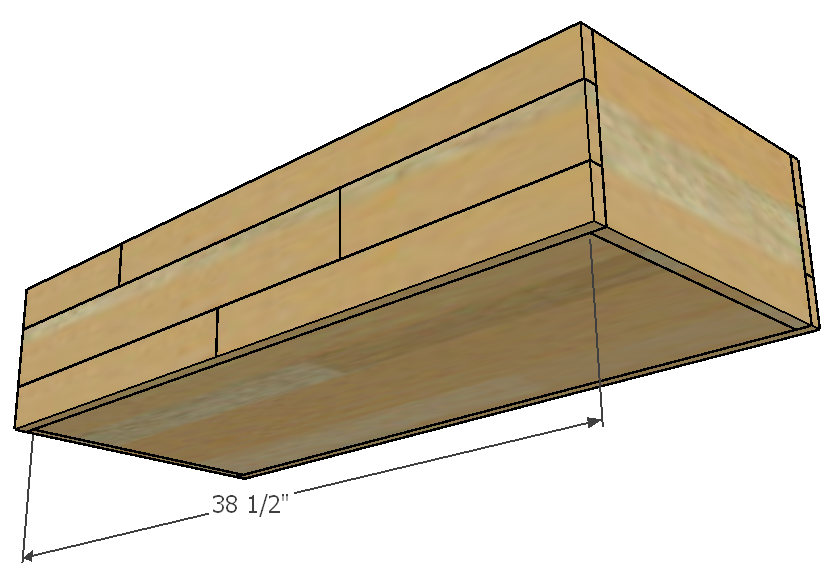 Entryway Storage Chest Plans