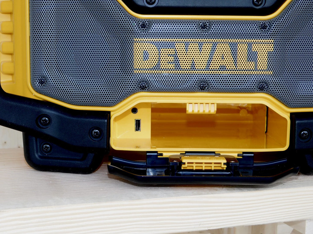 DEWALT Bluetooth Radio Charger USB Outlet
