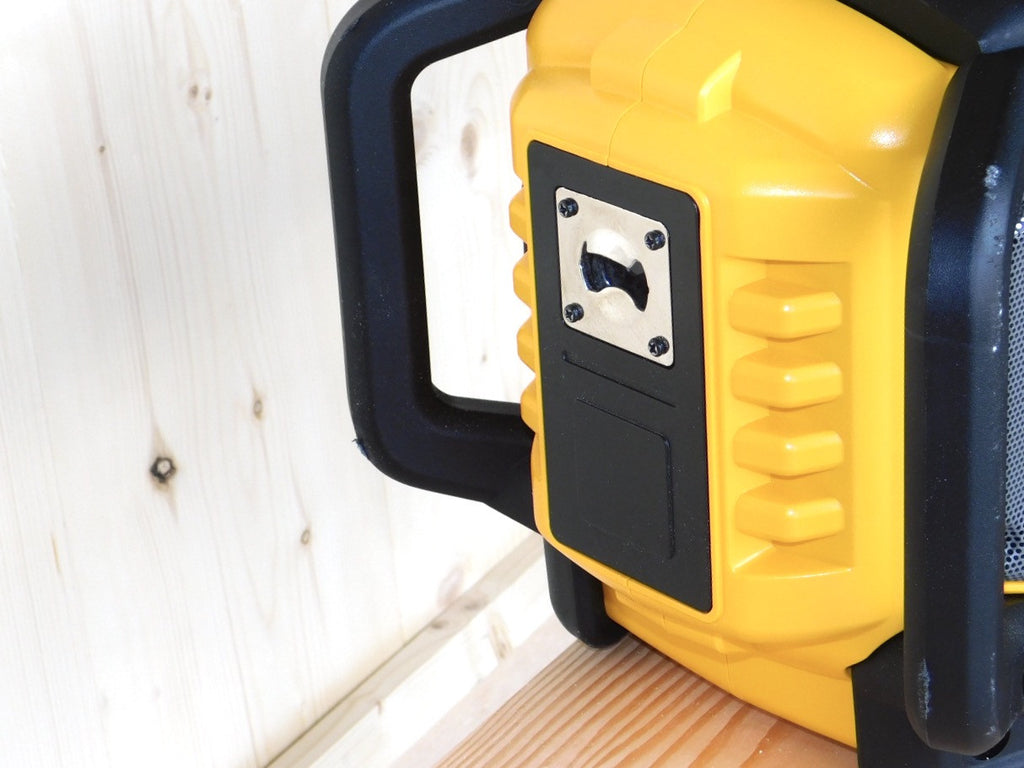 DEWALT Bluetooth Radio Charger Bottle Opener