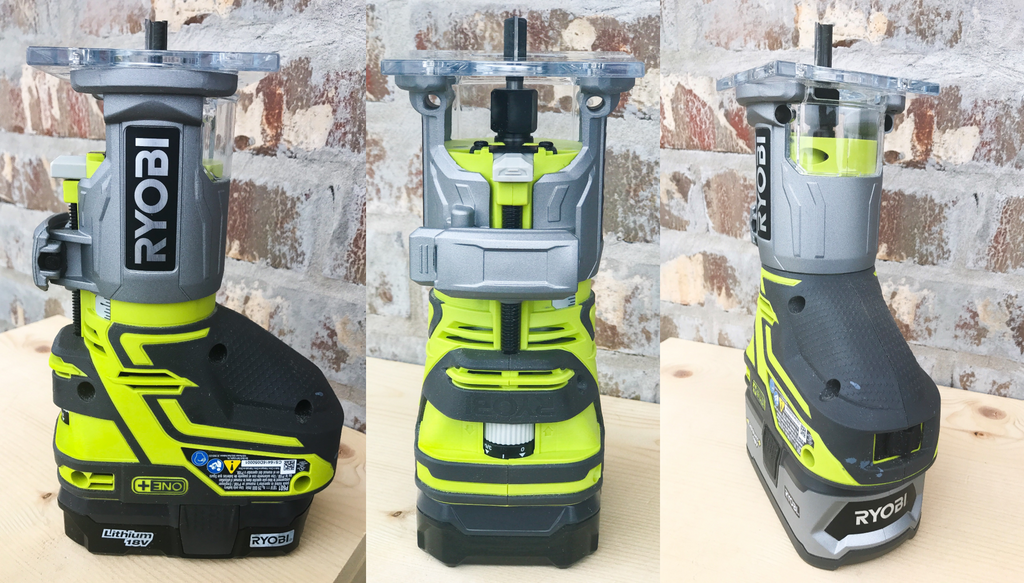 Ryobi Palm Router Tool Review