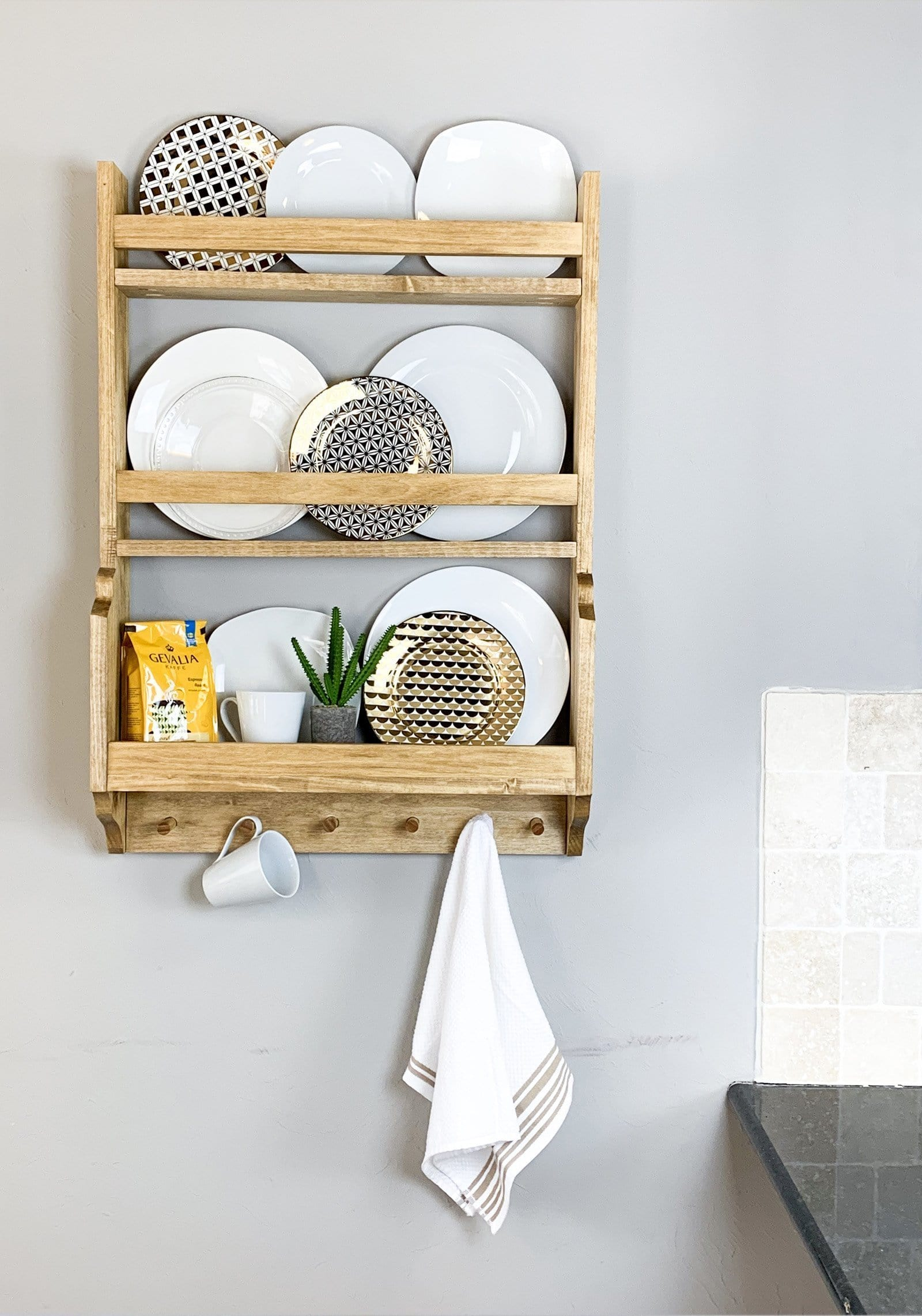 Plate Rack Handmade Haven