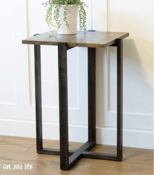 Modern End Table - Printable Plans