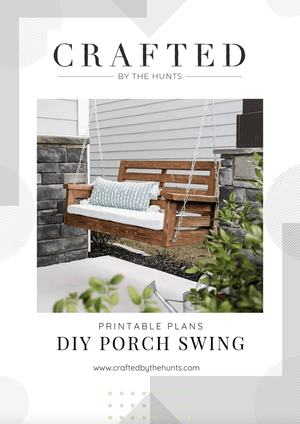 Porch Swing - Printable Plans