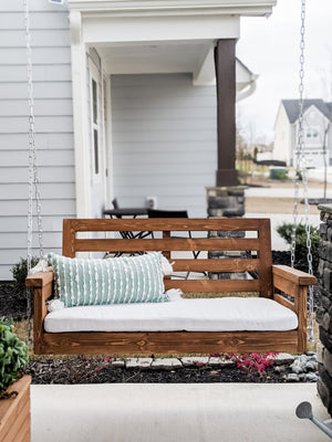 DIY Porch Swing - Printable Plans