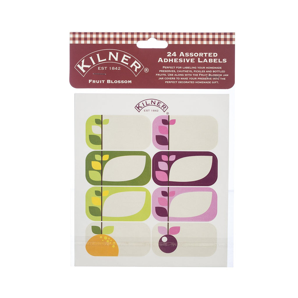 Kilner Fruit Blossom Labels (Set of 24)