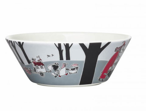 Moomin Adventure Move Cereal Bowl 15cm