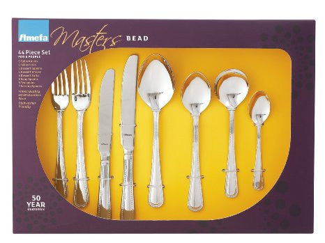 Amefa Bead Royale 44 Piece Cutlery Set (Boxed Set)