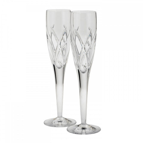 Waterford Crystal John Rocha Signature Champagne Flute 25.5cm (Pair)