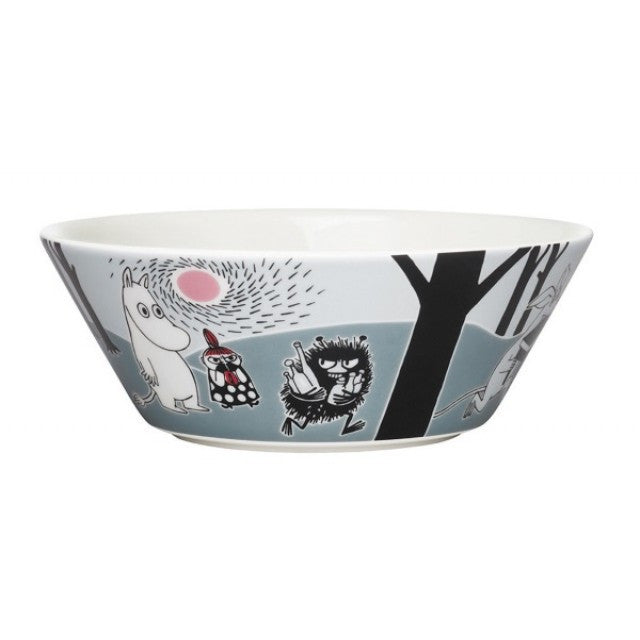 Moomin Moomin Grey Adventure Move Cereal Bowl 15cm