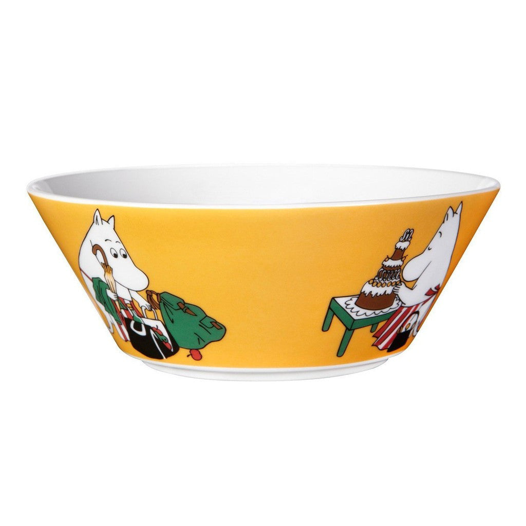 Moomin Moominmamma Apricot Cereal Bowl 15cm