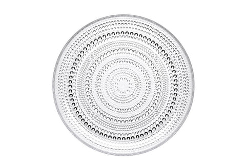 Iittala Kastehelmi Clear Decorative Plate 24.8cm