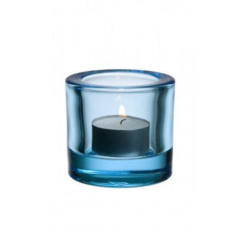 Iittala Kivi Light Blue Votive 6cm (Boxed)