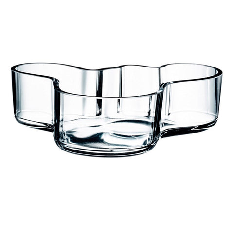 Iittala Aalto Glass Bowl 40mm By 136mm
