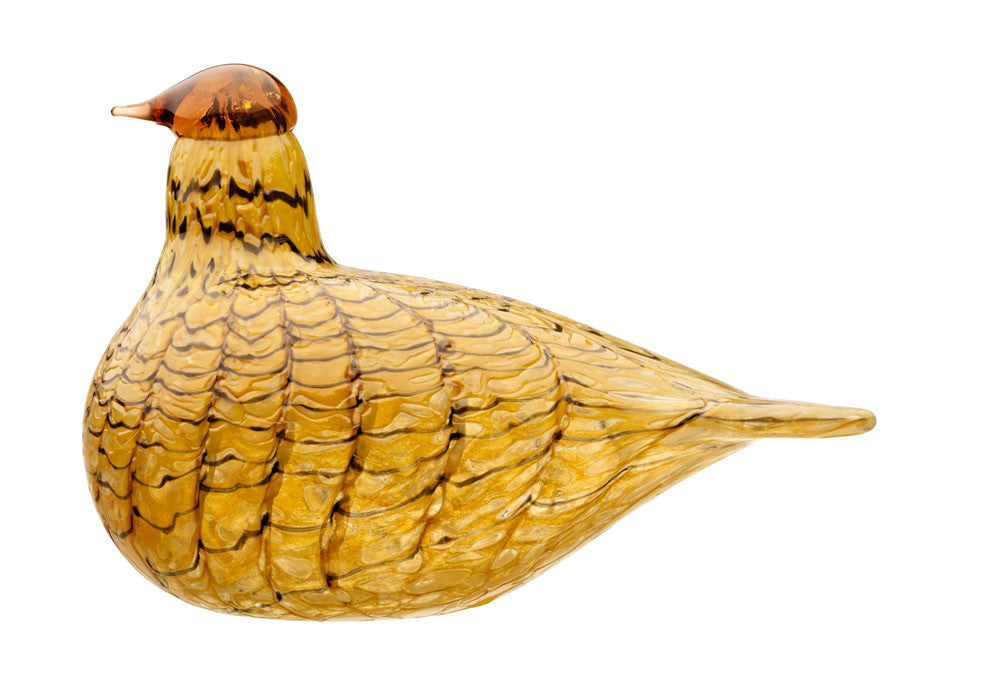 Iittala Toikka Birds Summer Grouse 15cm by 11cm