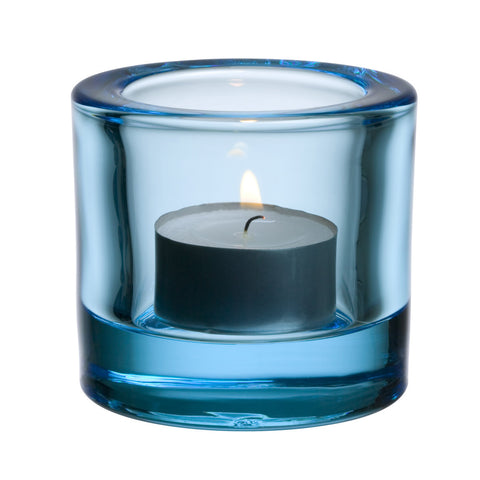 Iittala Kivi Light Blue Votive 6cm (Unboxed)