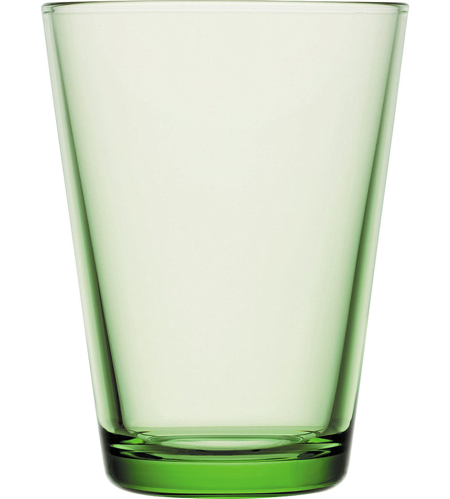 Iittala Kartio Apple Green Tumbler 0.40L (Pair)