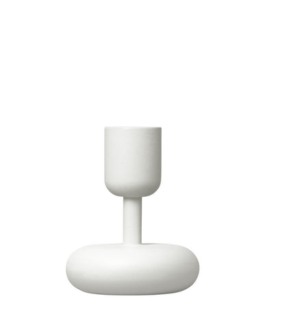 Iittala Nappula White Candle Holder 10.7cm
