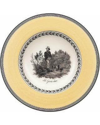 Villeroy and Boch Audun Chasse Deep Plate 24cm