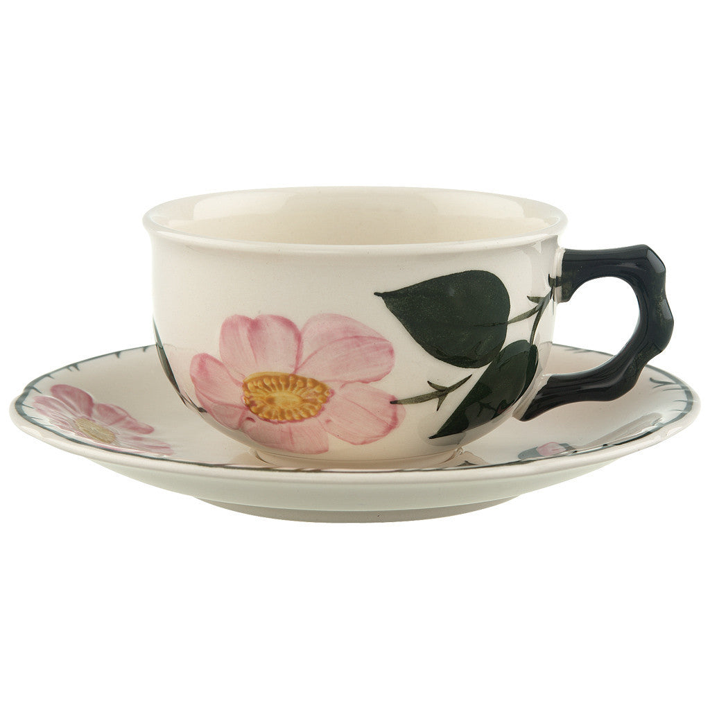 Villeroy and Boch Wildrose Tea Cup and Saucer