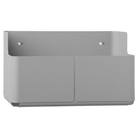Iittala Aitio Grey Wall Box 18cm by 16cm