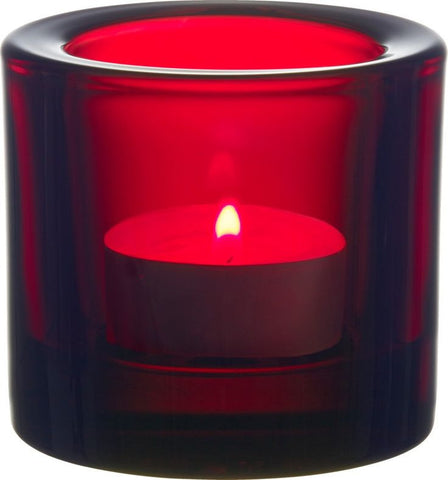 Iittala Kivi Cranberry Votive 6cm (Boxed)