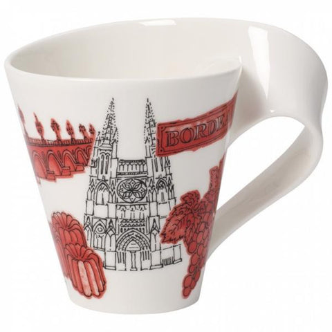 Villeroy and Boch NewWave Cities Bordeaux Mug 0.30L