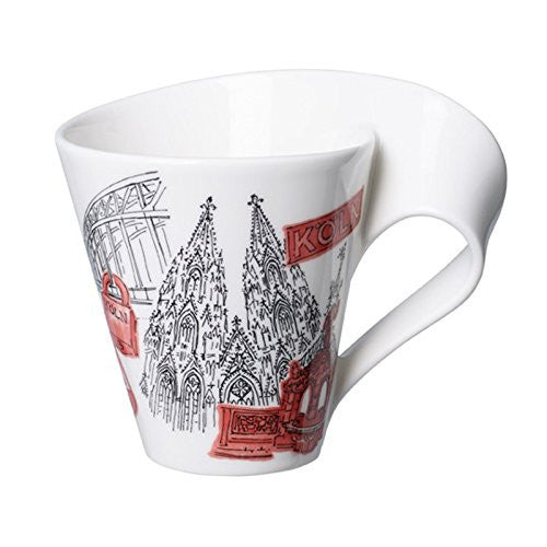 Villeroy and Boch NewWave Cities Cologne Mug 0.30L