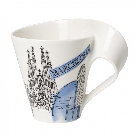 Villeroy and Boch NewWave Cities Barcelona Mug 0.30L
