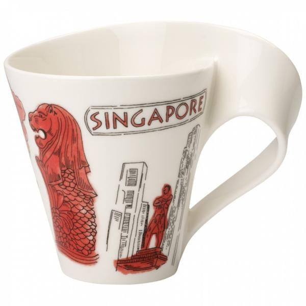 Villeroy and Boch NewWave Cities Singapore Mug 0.30L