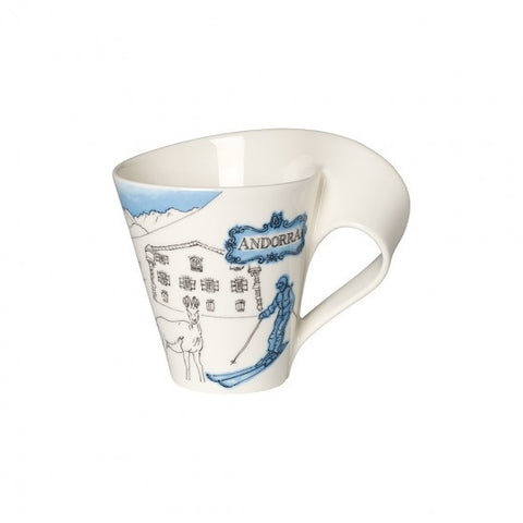 Villeroy and Boch NewWave Cities Andorra Mug 0.30L