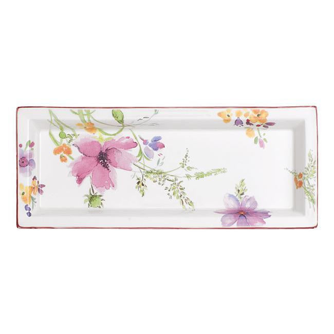 Villeroy and Boch Mariefleur Rectangular Decorative Bowl 23cm