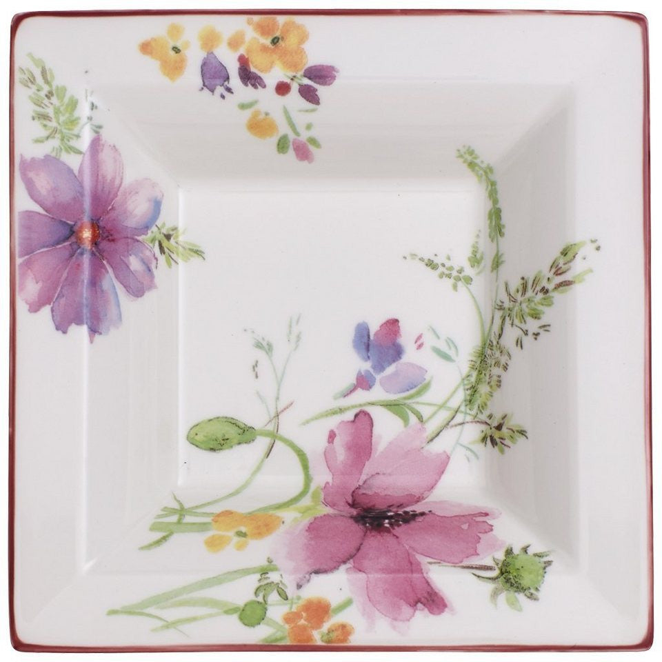 Villeroy and Boch Mariefleur Square Decorative Bowl 14cm by 14cm