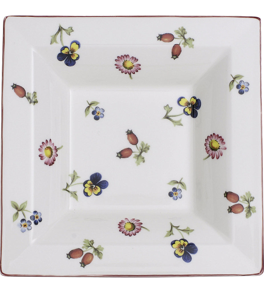 Villeroy and Boch Petite Fleur Square Decorative Bowl 14cm by 14cm