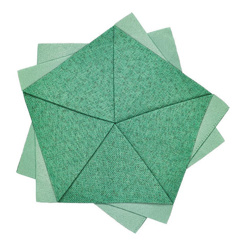 Iittala Issey Miyake X Collection Emerald Table Flower Placemat 20cm