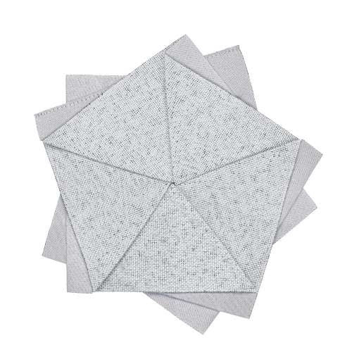 Iittala Issey Miyake X Collection Light Grey Table Flower Placemat 15cm