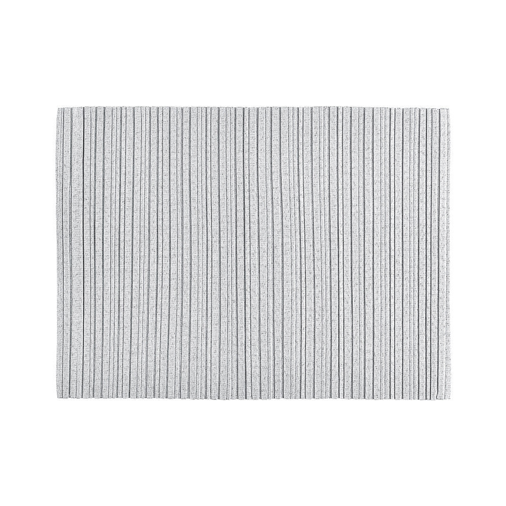 Iittala Issey Miyake X Collection Light Grey Placemat 36cm By 48cm
