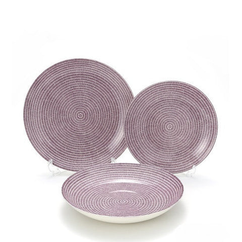 Finland Arabia 24h Purple Deep Plate 24cm