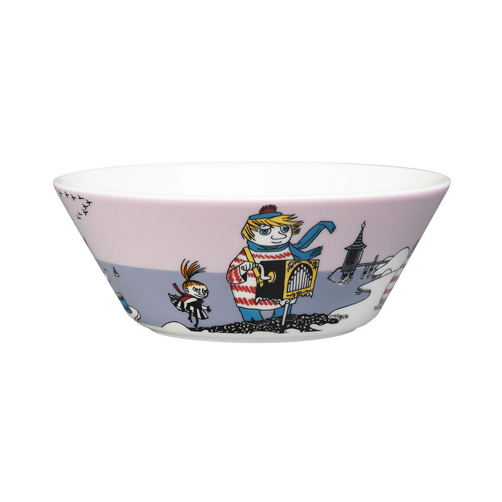 Moomin Tooticky Violet Cereal Bowl 15cm