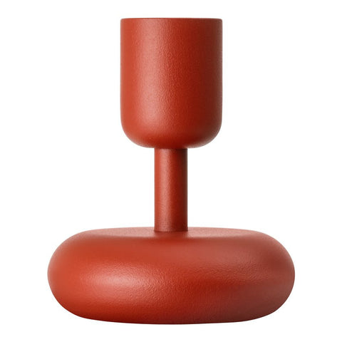 Iittala Nappula Kyoto Red Candle Holder 10.7cm