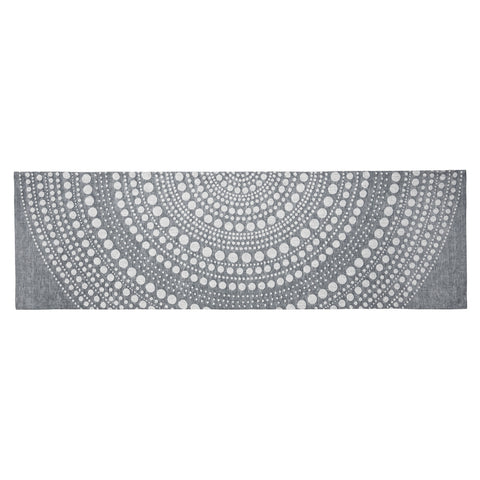 Iittala Kastehelmi Dark Grey Table Runner 44cm by 144cm
