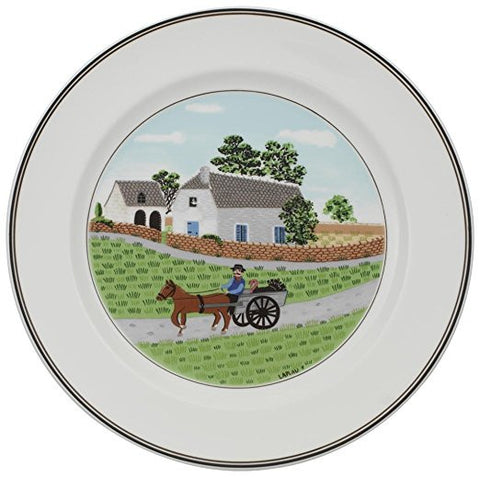 Villeroy and Boch Design Naif Farmer Dinner Plate 27cm