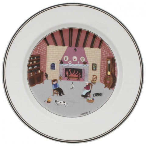 Villeroy and Boch Design Naif Fireplace Salad Plate 21cm