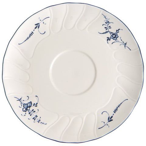 Villeroy and Boch Old Luxembourg Soup Cup Saucer 19cm