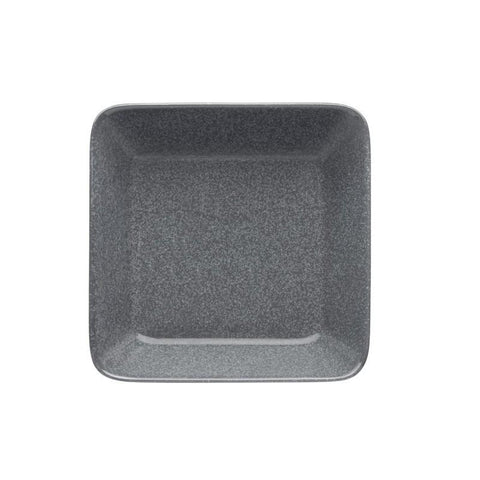 Iittala Teema Dotted Grey Square Plate 16 By 16Cm