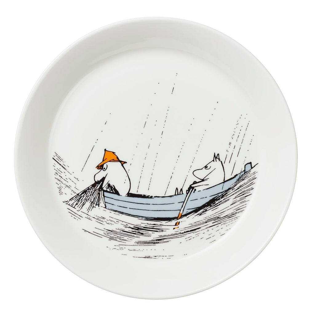 Moomin True To Its Origins Moomin Plate 19Cm